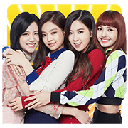 BLACKPINK Sticker for LINE & WhatsApp | ZIP: GIF & PNG