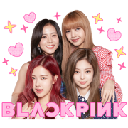 BLACKPINK 2 Sticker for LINE & WhatsApp | ZIP: GIF & PNG