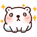 Bac Bac's Diary is Moving! Sticker for LINE & WhatsApp | ZIP: GIF & PNG