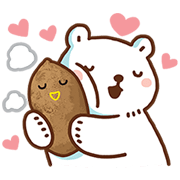 Bac Bac's Diary with Taiwan FamilyMart Sticker for LINE & WhatsApp | ZIP: GIF & PNG