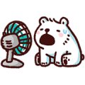 Bac Bac's Moving Diary 2 Sticker for LINE & WhatsApp | ZIP: GIF & PNG