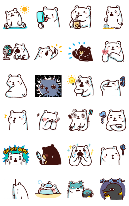 Bac Bac's Moving Diary 2 Line Sticker GIF & PNG Pack: Animated & Transparent No Background   WhatsApp Sticker