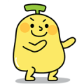 BananaMan 5: Double Cute Sticker for LINE & WhatsApp | ZIP: GIF & PNG
