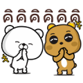 Bears: Happy Moves Sticker for LINE & WhatsApp | ZIP: GIF & PNG