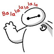 Big Hero 6: Pop-Up Stickers Sticker for LINE & WhatsApp | ZIP: GIF & PNG