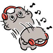 Boo-chan Animated Stickers Sticker for LINE & WhatsApp | ZIP: GIF & PNG