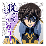 CODE GEASS 2 Sticker for LINE & WhatsApp | ZIP: GIF & PNG