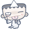 Even Dead, Mark's Work Life Goes On Sticker for LINE & WhatsApp | ZIP: GIF & PNG