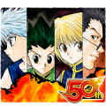 HUNTER×HUNTER J50th Sticker for LINE & WhatsApp | ZIP: GIF & PNG