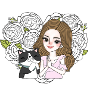 J'Beaut & Jodd: I Heart You, Mom Sticker for LINE & WhatsApp | ZIP: GIF & PNG