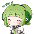 Mintchan: Chibi Debut! Sticker for LINE & WhatsApp | ZIP: GIF & PNG
