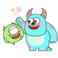 Pixar Tower Sticker for LINE & WhatsApp | ZIP: GIF & PNG