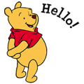Pooh & Friends - Cute & Cuddly Sticker for LINE & WhatsApp | ZIP: GIF & PNG