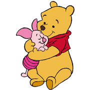 Pooh and Friends Sticker for LINE & WhatsApp | ZIP: GIF & PNG