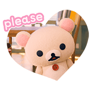 Rilakkuma and Kaoru Sticker for LINE & WhatsApp | ZIP: GIF & PNG