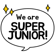 Super Junior Special Sticker for LINE & WhatsApp | ZIP: GIF & PNG