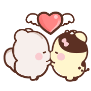 Sweet House: Sweet Bubbling Sticker for LINE & WhatsApp | ZIP: GIF & PNG