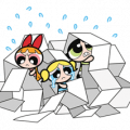 The Powerpuff Girls Sticker for LINE & WhatsApp | ZIP: GIF & PNG