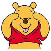 Winnie The Pooh Animated Stickers Sticker for LINE & WhatsApp | ZIP: GIF & PNG
