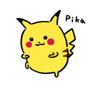 24/7 Pokémon Sticker for LINE & WhatsApp | ZIP: GIF & PNG