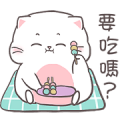 Baby cat By Auongrom Sticker for LINE & WhatsApp | ZIP: GIF & PNG