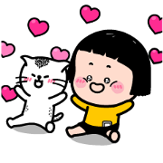Catch MiM's Heart! Sticker for LINE & WhatsApp | ZIP: GIF & PNG