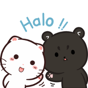Cymo the Fluff Squad Sticker for LINE & WhatsApp | ZIP: GIF & PNG