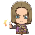 DRAGON QUEST XI S Stickers Sticker for LINE & WhatsApp | ZIP: GIF & PNG
