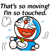 Doraemon Returns: Catchphrase Stickers Sticker for LINE & WhatsApp | ZIP: GIF & PNG