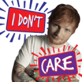 Ed Sheeran: No. 6 Collaborations Sticker for LINE & WhatsApp | ZIP: GIF & PNG