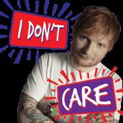 Ed Sheeran: No. 6 Collaborations Sticker for LINE & WhatsApp   ZIP: GIF & PNG