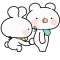 Everyday Love Baby Usakkuma Sticker for LINE & WhatsApp | ZIP: GIF & PNG