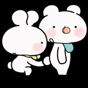 Everyday Love Baby Usakkuma Sticker for LINE & WhatsApp | ZIP: GIF & PNG