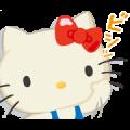 Gundam vs. Hello Kitty: Team Kitty Sticker for LINE & WhatsApp   ZIP: GIF & PNG
