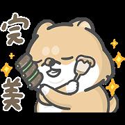 Hi John Chubby Stickers Sticker for LINE & WhatsApp | ZIP: GIF & PNG