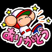 Jikkyou Pawafuru Puroyakyu Sticker for LINE & WhatsApp | ZIP: GIF & PNG