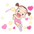 Jumbooka 12 Happy Custom Sticker Sticker for LINE & WhatsApp | ZIP: GIF & PNG
