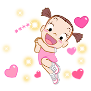 Jumbooka 12 Happy Custom Sticker Sticker for LINE & WhatsApp | ZIP: GIF & PNG