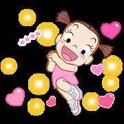 Jumbooka 12 Happy Custom Sticker Sticker for LINE & WhatsApp   ZIP: GIF & PNG