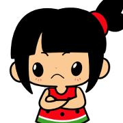 Little Manka Sticker for LINE & WhatsApp | ZIP: GIF & PNG
