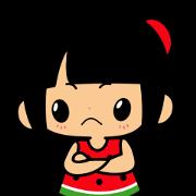 Little Manka Sticker for LINE & WhatsApp | ZIP: GIF & PNG