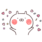 Mellow Usamaru on the Move! Sticker for LINE & WhatsApp   ZIP: GIF & PNG