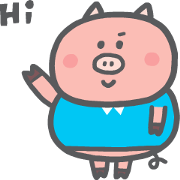 P714 Chubby Stickers Sticker for LINE & WhatsApp   ZIP: GIF & PNG