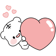 POMPOM FRIENDS Sticker for LINE & WhatsApp | ZIP: GIF & PNG