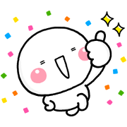 Shiromaru Timeless Pop-Up Stickers Sticker for LINE & WhatsApp | ZIP: GIF & PNG