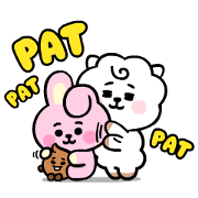 UNIVERSTAR BT21: Baby Style Sticker for LINE & WhatsApp | ZIP: GIF & PNG