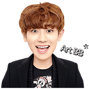 2nd Edition of K-Pop Star EXO in Khmer Sticker for LINE & WhatsApp | ZIP: GIF & PNG