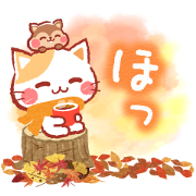 A lot of cats. Warm & Fuzzy Stickers Sticker for LINE & WhatsApp | ZIP: GIF & PNG