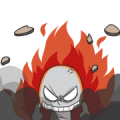 Angry Jieaw Jarw Sticker for LINE & WhatsApp | ZIP: GIF & PNG