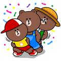 BROWN FARM: Exciting Farm Life Sticker for LINE & WhatsApp | ZIP: GIF & PNG